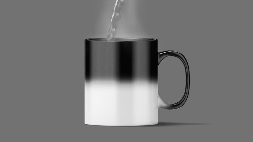 Magic Mug - Black/White