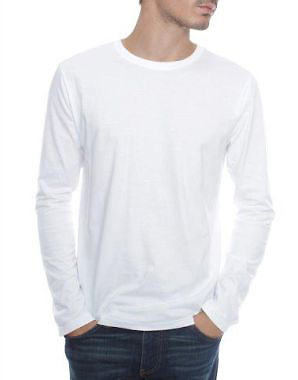 Mens Long Sleeve Crew T-Shirt